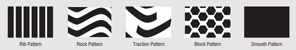 Tiron Tire Tread Patterns